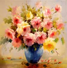 Best Paintings by Famous Flower Painting Artists Famous Paintings Of Flowers Artists