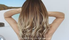 ambre blends hair modern bohemian lifestyle how i maintain ombre balayage hair at home