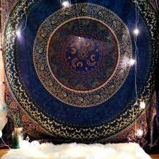 210x150cm indian tapestry mandala bohemian wall hanging bedspread