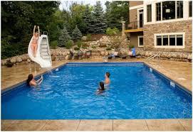 Small Backyard Inground Pool Design by Backyards Chic Backyard Swimming Pools Backyard Images Backyard