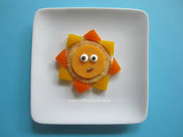 creative food kids diy sun crackers