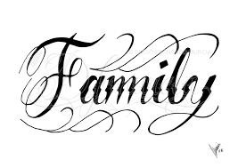 light family lettering tattoo designs family tattoo design