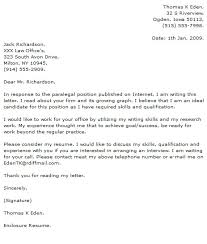 paralegal cover letter sle paralegal cover letter resumess franklinfire co