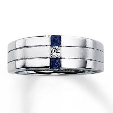 Best Metal For Mens Wedding Ring by Unique Beveled Edge Mens Black Diamond Wedding Ring Black