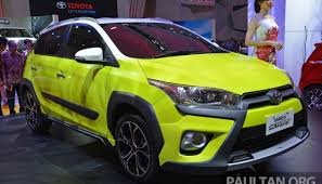toyota suv indonesia toyota yaris heykers concept unveiled at the 2015 indonesia auto