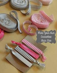 creaseless hair ties turn your favorite patterned elastic into creaseless and ouchless