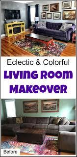livingroom makeover living room makeover room reveal bursting with color
