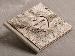 rustic wedding guest book 141 best rustic wedding guestbooks images on wedding