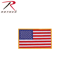 Military Flag Patch Rothco Us Flag Patch