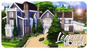 sims 4 house build legacy house pt 2 youtube