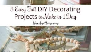 Fall Decorating Projects - 15 inspirations for fall decorating ideas bluesky at home