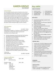 cv standard format sales assistant cv example shop store resume retail curriculum