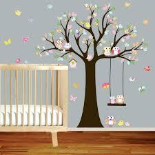 stickers muraux chambre bébé pas cher stickers muraux chambre bebe pas cher agracable 4 arbre prenom lzzy co