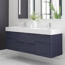 double vanity bathroom cabinets double vanities you ll love wayfair
