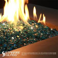 Propane Fire Pits With Glass Rocks by Fire Glass Vs Lava Rock Which Is Better And Why