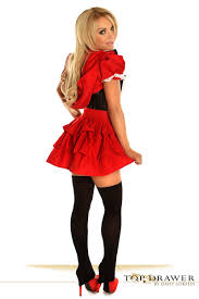 red riding hood corset halloween costume