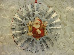 shabby tea party more paper handmade christmas ornaments