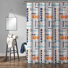 Nfl Shower Curtains Gettington Nfl Shower Curtain