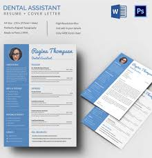 resume cover page exle dental assistant resume template 7 free word excel pdf format