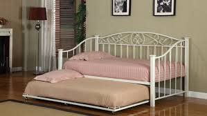 cream metal bed frame daybed daybed bed in a bag amazoncom cream white finish metal