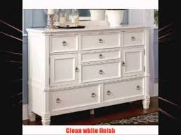 cottage style white prentice bedroom dresser youtube