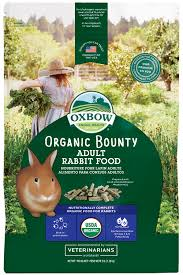 rabbit food oxbow animal health organic bounty rabbit