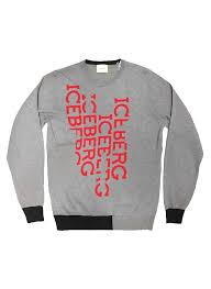 iceberg sweater iceberg iceberg logo sweater moda404 s boutique