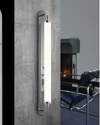Led Wall Sconce Bauhaus Revisited Klammer Tall Led Wall Sconce By Sonneman