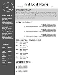 teacher resume template sleek gray and white leadership roles
