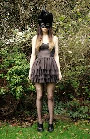 newby fancy dress mask h m dress primark spotted tights