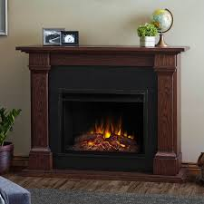 real flame crawford slim line electric fireplace chestnut oak