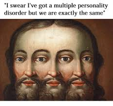 Multiple Picture Meme - 25 best memes about multiple personality multiple