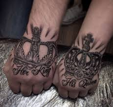 50 king and queen tattoos for couples 2017 tattoosboygirl