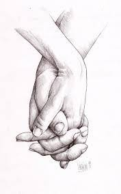 original drawing on paper hands hand pinterest drawings