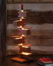 frank lloyd wright taliesin 3 table lamp cherry maclin studio
