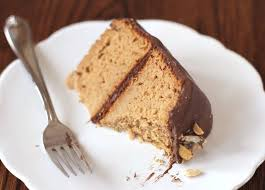 healthy peanut butter cake with chocolate frosting recipe gluten