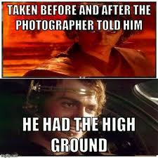 Darth Maul Meme - darth maul had the high ground meme by tomcatx21 memedroid