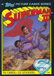 1983 topps superman iii sport gallery trading card