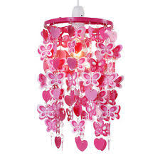 Red Ceiling Lights by Pink Ceiling Lights And Chandeliers Ebay