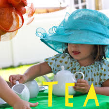 Backyard Tea Party - summer activity host a backyard tea party the chirping moms