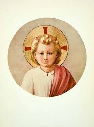 1908 color print fra angelico italian renaissance infant jesus
