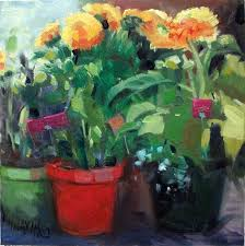 Flowers For Sale Mary Maxam Paintings Yard Sale Bouquet Flowers For Sale