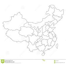 Blank Concept Map by Map Of China Blank Stock Image Image 2303231