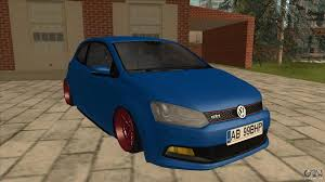 volkswagen gti stance volkswagen polo gti euro stance 2012 for gta san andreas
