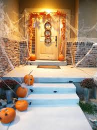 halloween ideas decorating outside halloween begins and ends with your front porch the in doorway