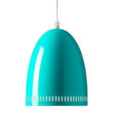 Turquoise Pendant Light Small Metal Dynamo Pendant Lamp Turquoise
