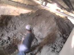 How To Dig Out A Basement by Digging Out The Crawlspace Youtube