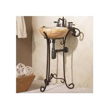 Wrought Iron Bathroom Faucet Wrought Iron Pedestal 3700 Rt From Decolav