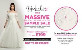 Berketex Wedding Dresses Berketex Bride Sample Sale Sample Sale In Grantham
