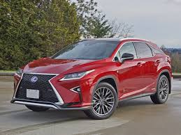 red lexus 2016 lexus rx 450h f sport awd road test review carcostcanada